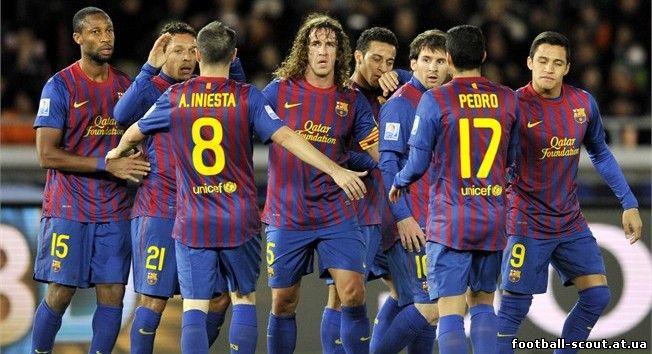 Аль-Садд - Барселона. Клубный чемпионат мира 2011